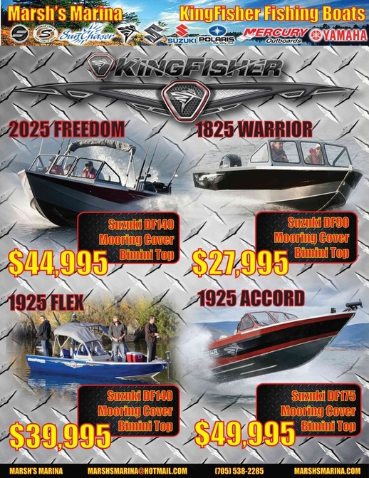 KingFisher Boats For Sale in Ontario