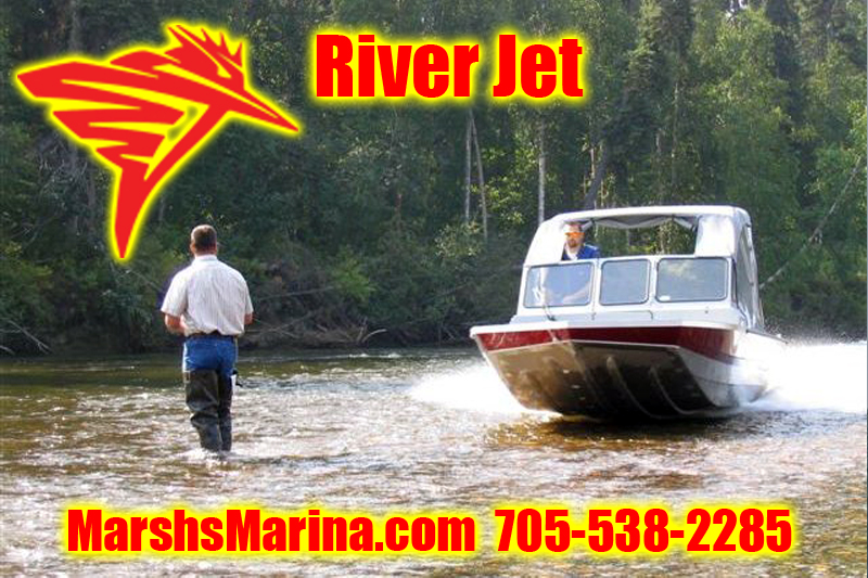 KingFisher River Jet Boats For Sale in Ontario